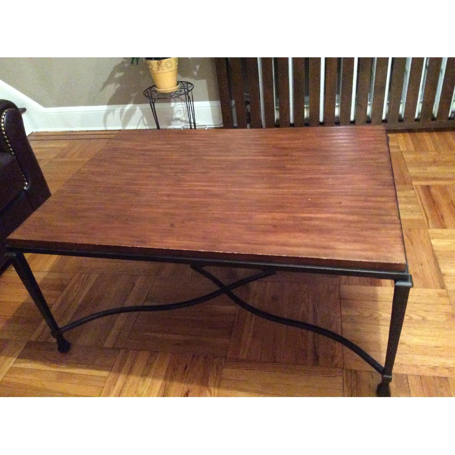 Stickley Audi Wood Coffee Table-0