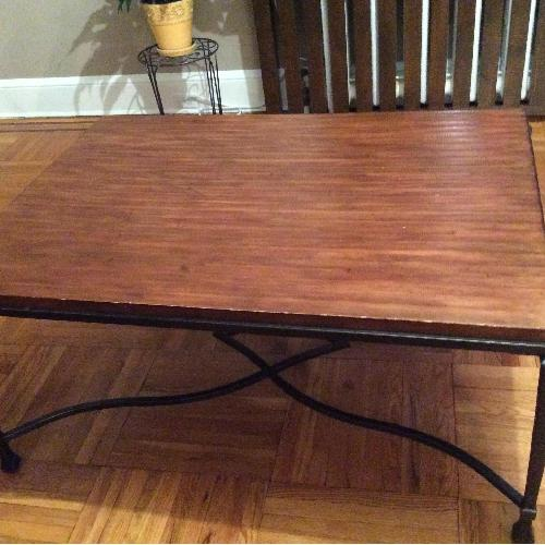 Stickley Audi Wood Coffee Table