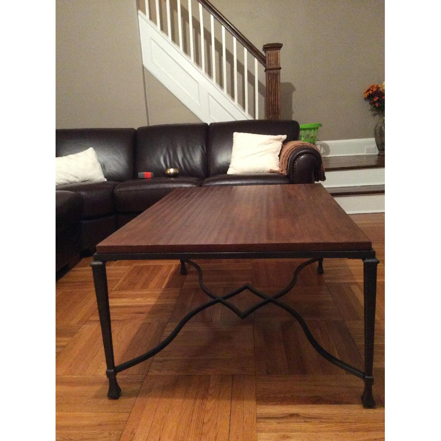 Stickley Audi Wood Coffee Table-2