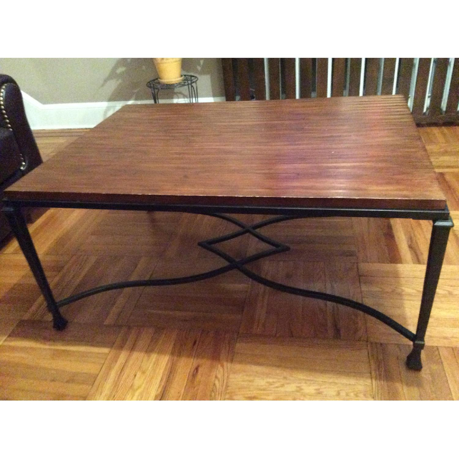 Stickley Audi Wood Coffee Table-6