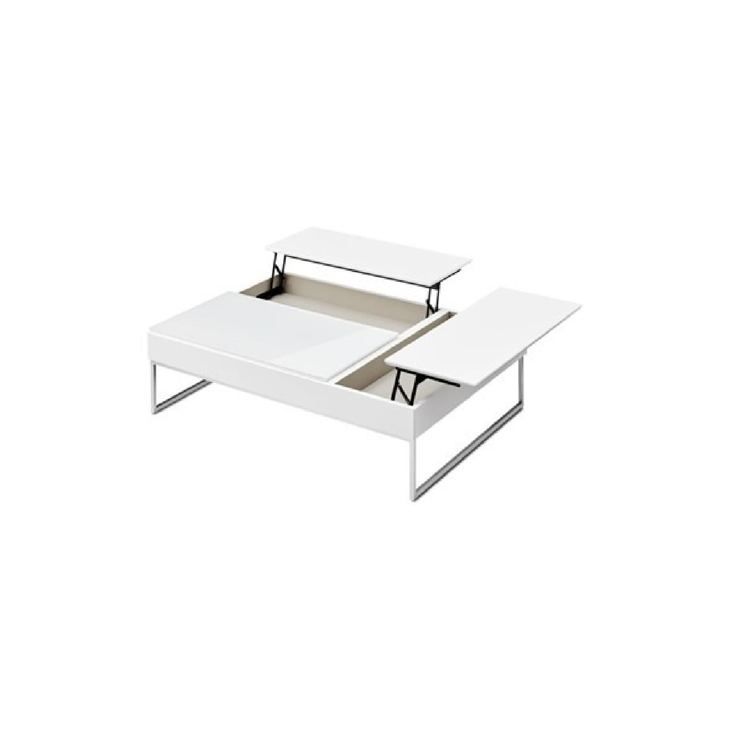 Boconcept Chiva National Coffee Table In White Aptdeco