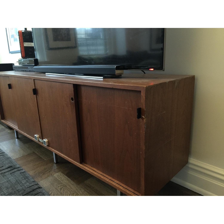 Antique Wood Sideboard - image-2
