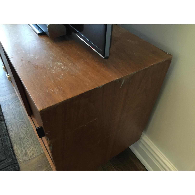 Antique Wood Sideboard - image-3