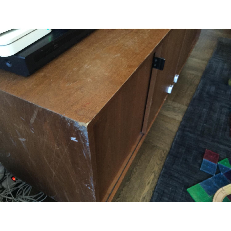 Antique Wood Sideboard - image-4