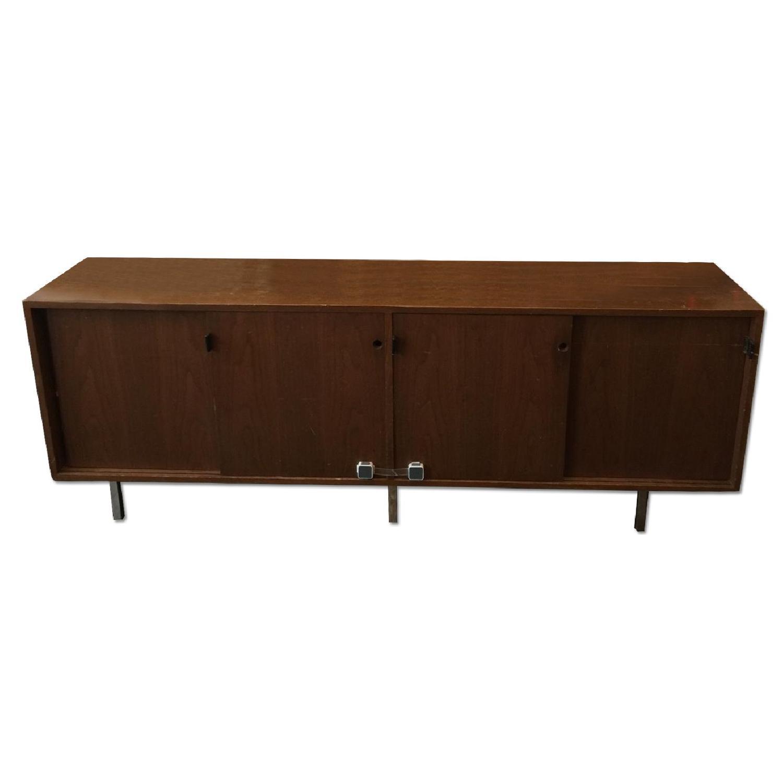 Antique Wood Sideboard - image-0