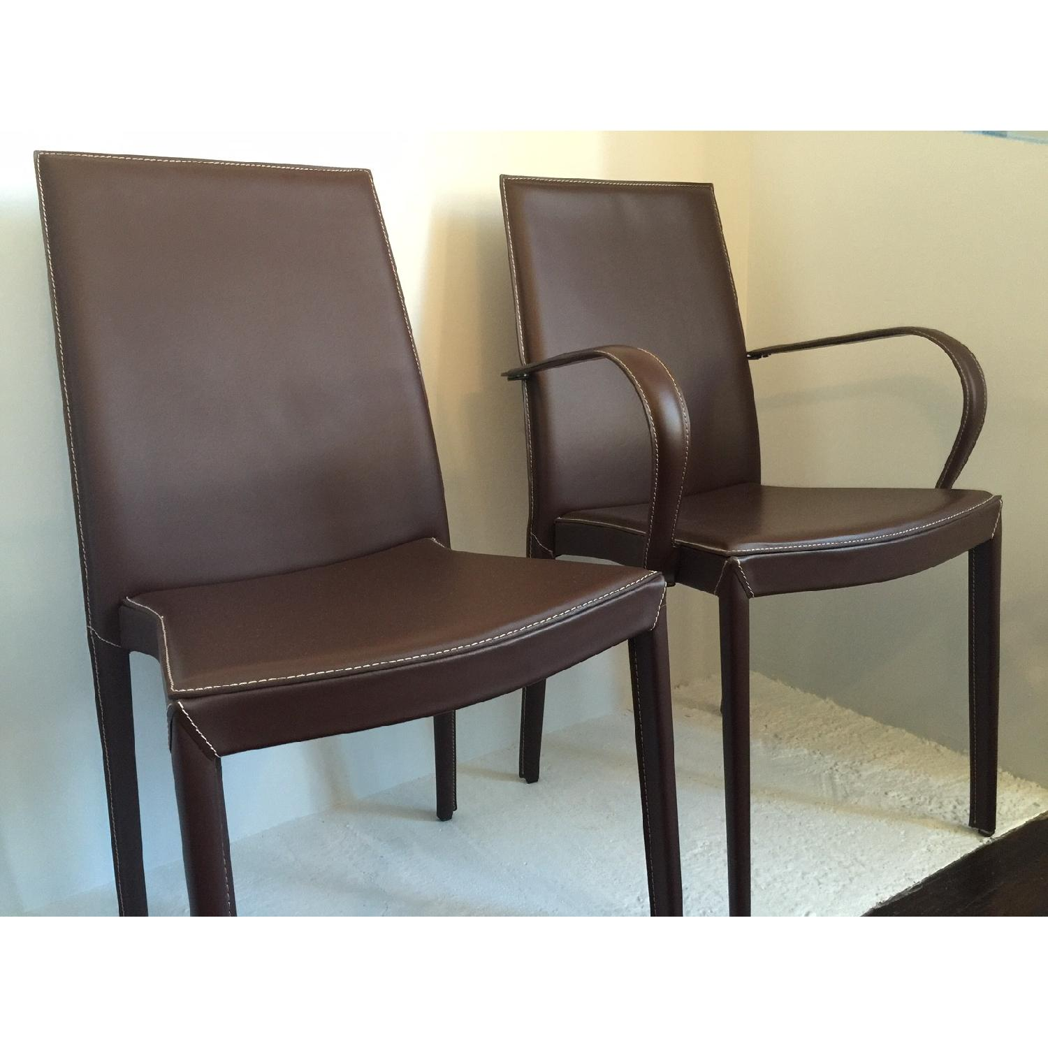 Calligaris Italian Dining Room Chairs - Set of 6