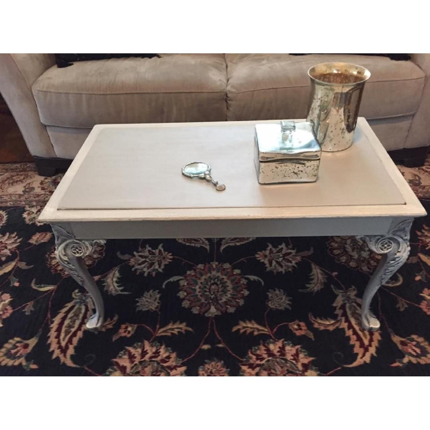 French Shabby Chic Coffee Table - image-1