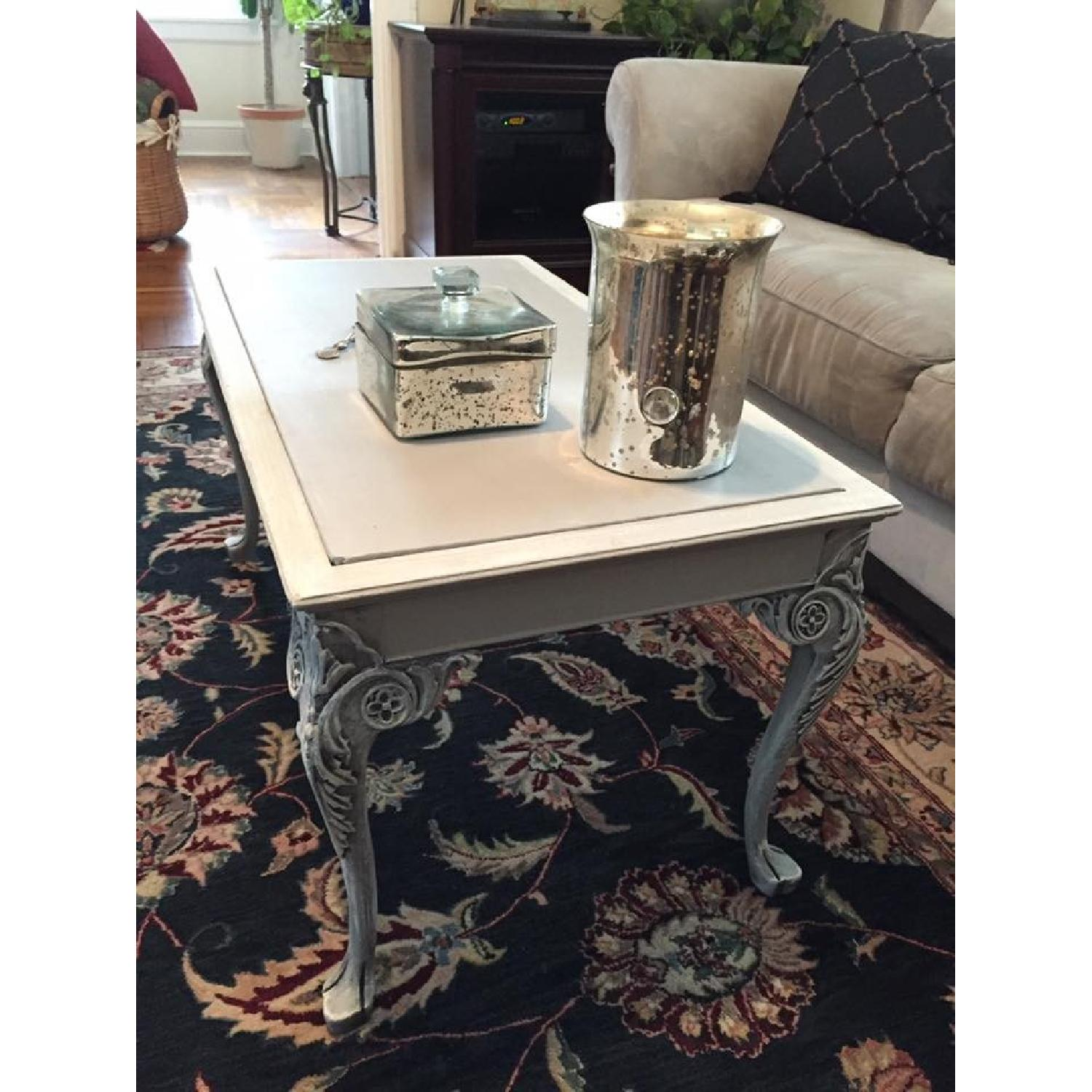 French Shabby Chic Coffee Table - image-4
