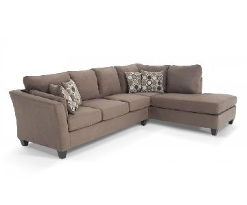 Bob's Libre II 2 Piece Left Facing Queen Sleeper Sectional