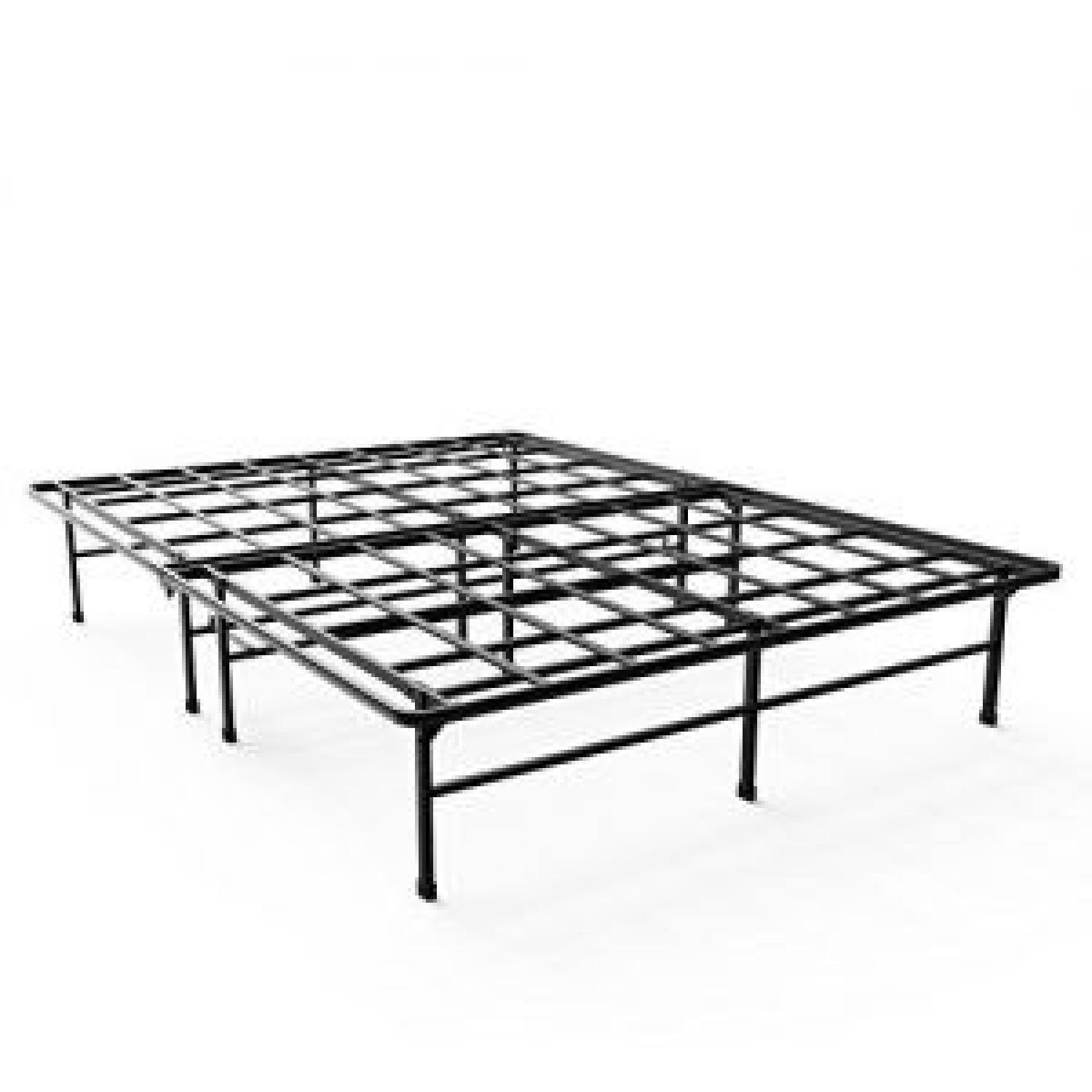 contemporary attach platform metal beds bed headboard a for frame