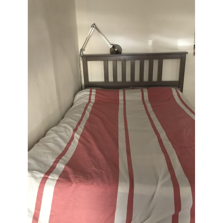 ... Ikea Hemnes Gray Brown Full Bed Frame 0 ...
