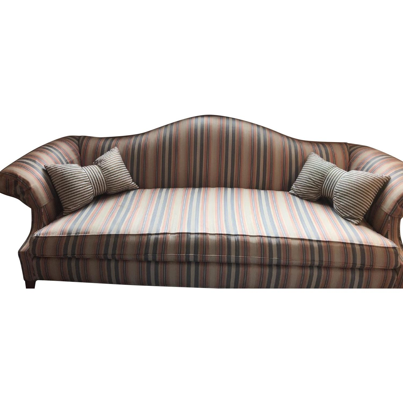 Vintage Striped Sofa ...