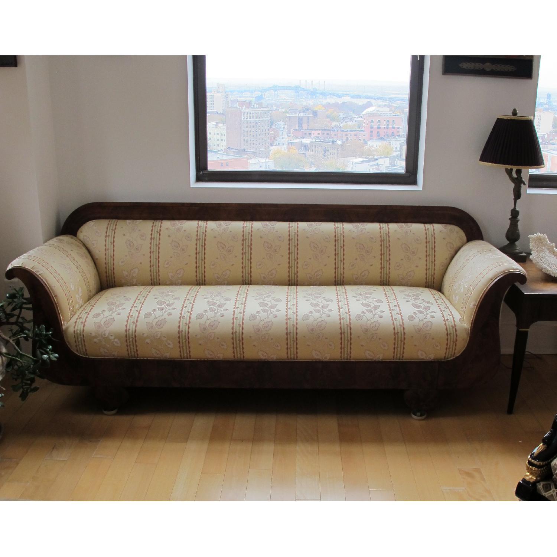 Empire Sofa antique mahogany empire sofa aptdeco