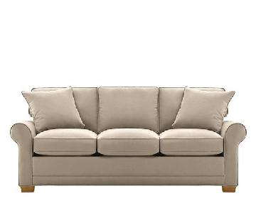Raymour & Flanigan Fresno Microfiber Sofa