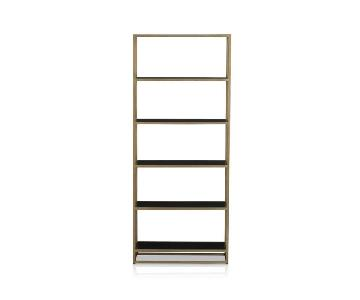 Crate & Barrel Remi Large Bookcase