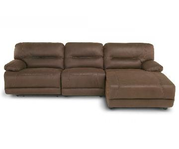 Bob's Quantum 3 Piece Left Arm Facing Sectional Sofa