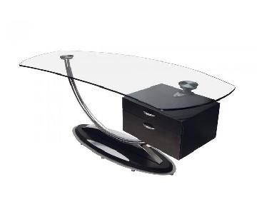 Elite Modern Dario Antonioni Arches Executive Desk