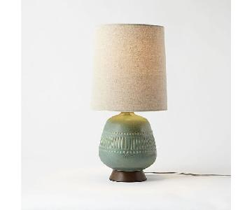 West Elm Mid-Century Jar Table Lamp