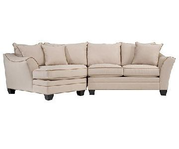 Raymour & Flanigan Foresthill 2-Piece Sectional Sofa
