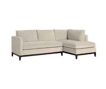 West Elm Blake 2-Piece Sectional Sofa