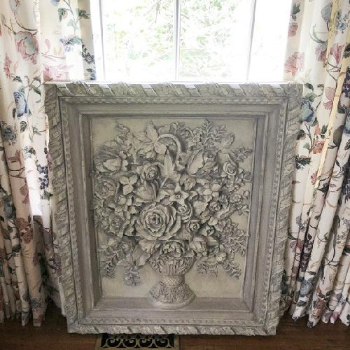 Used Horchow Flower Wall Sculpture Art for sale on AptDeco