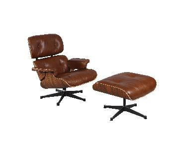 Mid Century Modern Classic Eames Lounge Chair Replica