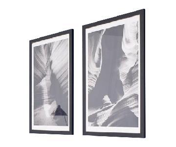Oversize Framed Antilope Canyon Fine Art Photography