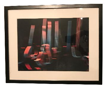 Chihuly Abstract Fine Art Framed Photography