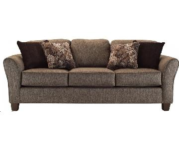 Raymour & Flanigan Hartley Dark Grey Sofa