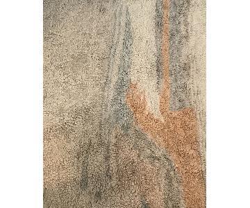 West Elm Marbled Wool Shag Rug