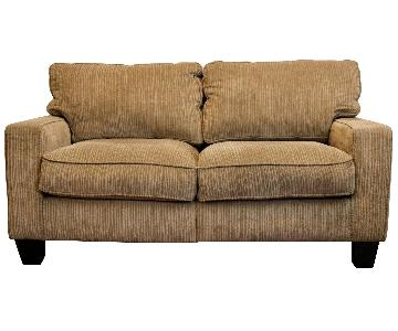Biscuit Brown Loveseat