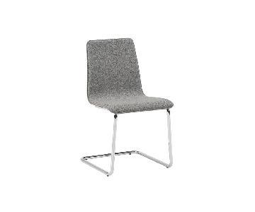 CB2 Tweed Dining Chair