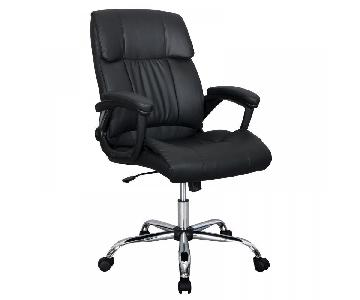 PU Leather Ergonomic High Back Executive Office Chair