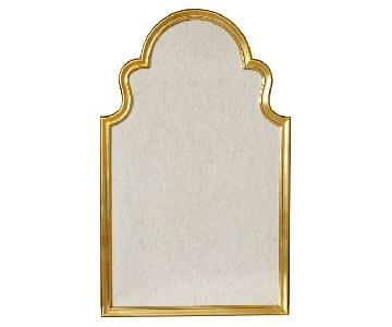 Pottery Barn Arch Pinboard in Gold