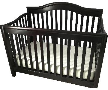 Sorelle Espresso Crib w/ Toddler Bed Conversion Kit