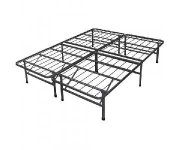 Spa Sensations Black Steel Smart Base Bed Frame