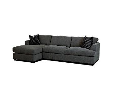 Jennifer Convertibles Bentley 2-Piece Sectional Sofa
