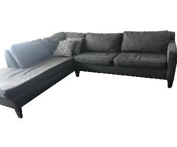 Macy's 2 Piece Sleeper Sectional Sofa