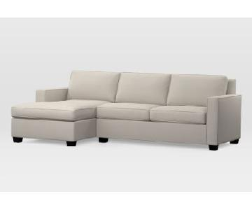 West Elm Custom Henry 2-Seat Sectional Sofa
