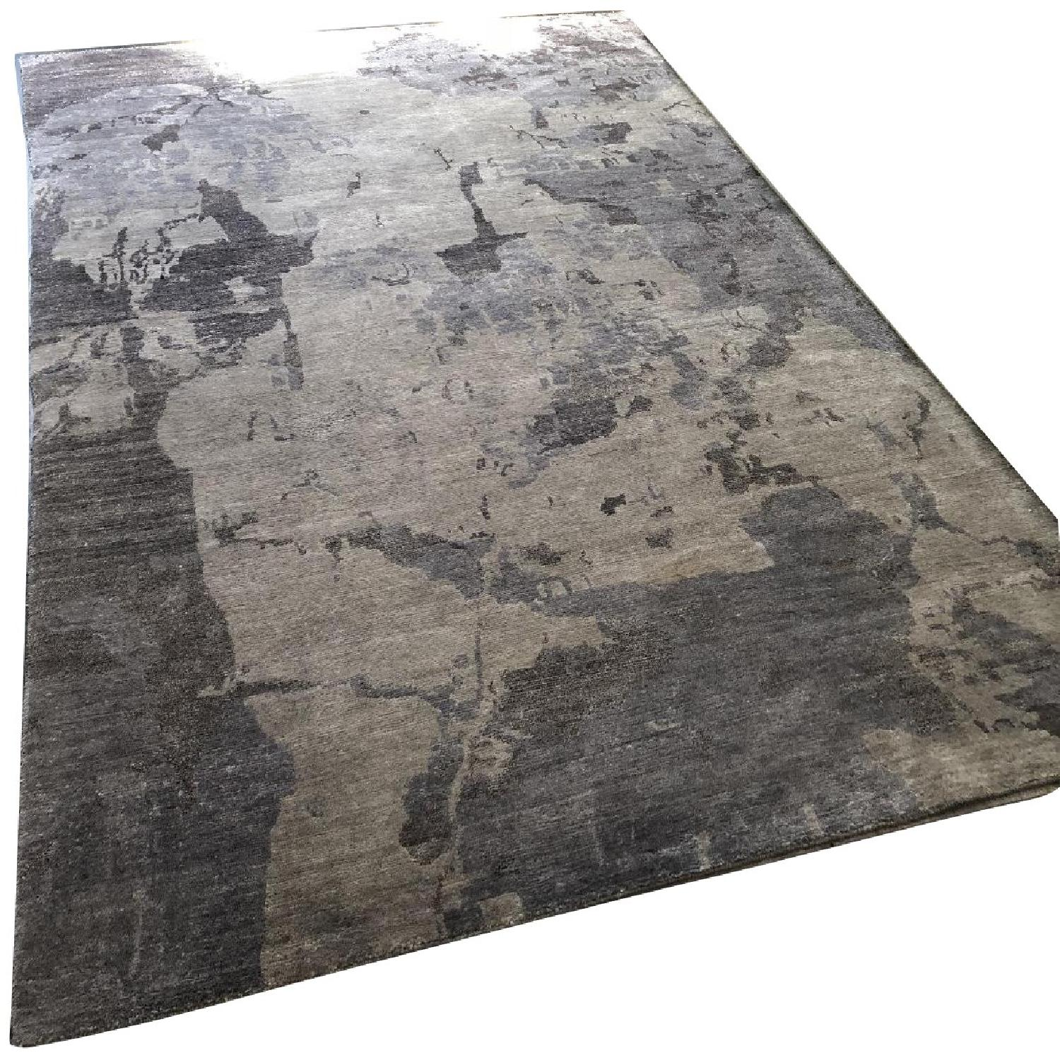 ABC Carpet and Home Silk & Wool Area Rug