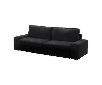 Ikea Kivik Black Sleeper Sofa