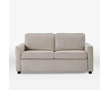 West Elm Henry Sofa in Performance Velvet