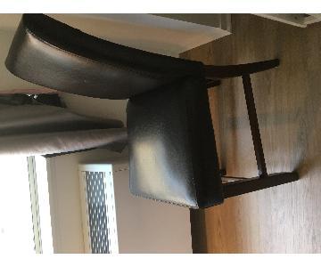 Ashley Dark Brown Bar Chairs