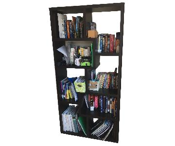 Crate & Barrel Wood Bookcase