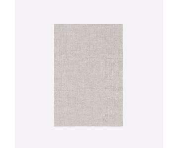 West Elm Light Grey Patina Rug