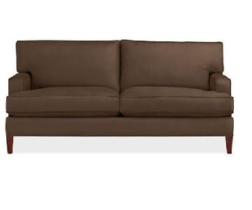 Room & Board Hawthorne Sofa in Brown