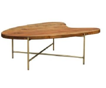 Moe's Home Collection Mid Century Bean Coffee Table