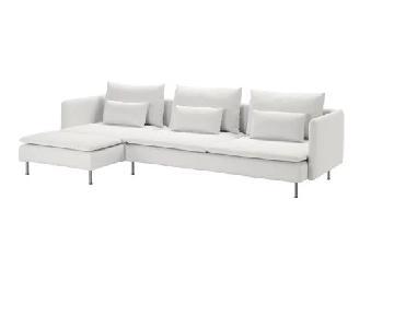 Ikea Soderhamn Slipcovered Sectional Sofa