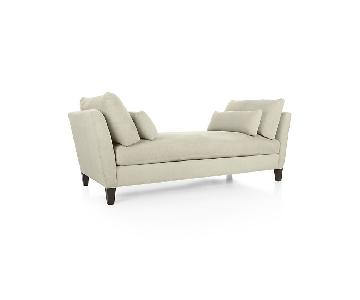 Crate & Barrel Chaise Lounge/Daybed