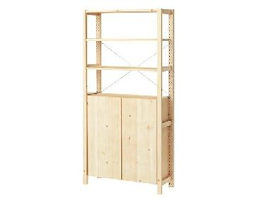 Ikea Ivar Shelving Unit w/ Cabinet